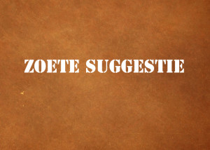 zoete-suggestie