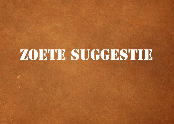 zoete-suggestie
